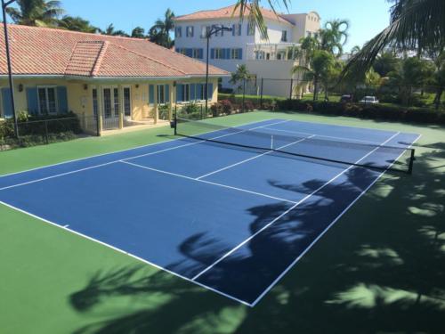 VR Tennis Court 2017